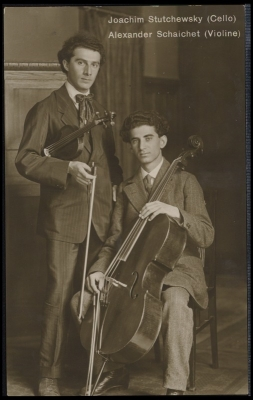 Joachim Stutschewsky (1891-1982) and Alexander Schaichet