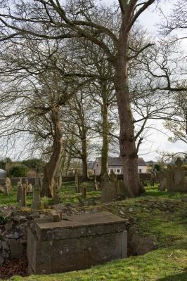 18. St. John's Graveyard, Knockainey, Co. Limerick: Altar-tomb, Dated 1618, 2013. Archival pigment print.