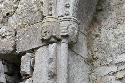 23. Anthropomorphic Capitals, Abbey, Kilmallock, Co. Limerick, 2013. Archival pigment print.