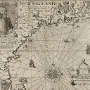 7. From Lot 72: John Smith (1580--1631) A description of New England: or the observations, and discoueries, of Captain John Smith (Admirall of that country) in the North of America, in the year of our Lord 1614…, London, 1616.