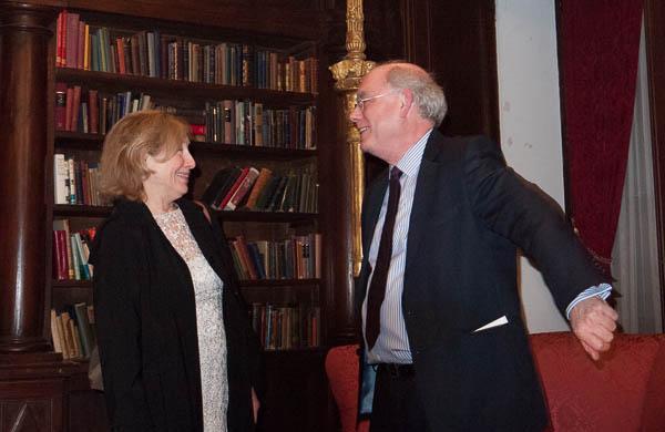 Paula Robison and Michael Miller. Photo Joanna Gabler.