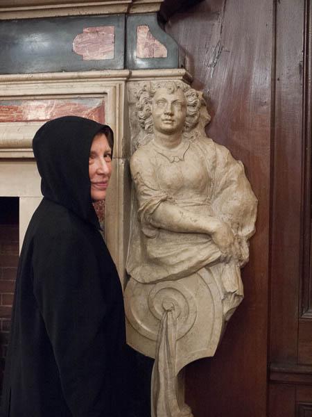 Paula Robison as ghostly nun. Photo Joanna Gabler.