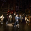 HAMILTON: An American Musical — at the Richard Rodgers Theatre following its premiere at the Public Theater