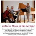 Gotham Early Music Scene presents Legêne-Kuijken-Haas Trio: Virtuoso Music of the Baroque: Thursday, March 13 at 7:30 pm