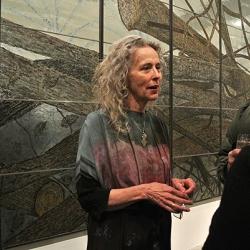 Kiki Smith at the IFPDA Print Fair