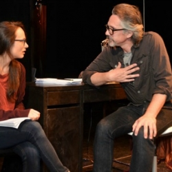 """Lisa Lewis' """"Schooled,"""" at the Soho Playhouse —closes October 17"""