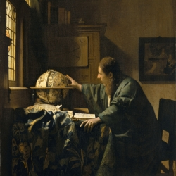 Vermeer's Astronomer at the MFA