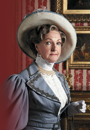 Penelope Keith as Lady Bracknell