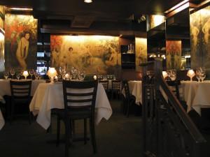 Café des Artistes, Dining Room, New York
