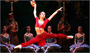 A Scene from The American Ballet Theater's 2006 La Bayadère