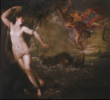 Tiziano Vecellio, Perseus and Andromeda, 1556, The Wallace Collection.