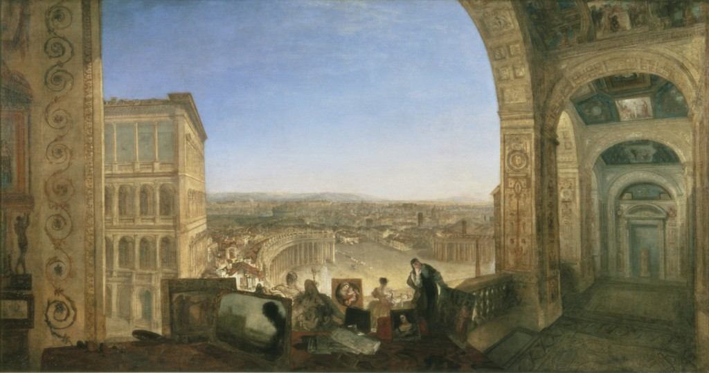 Rome, from the Vatican (1820)  Oil on canvas, 177 x 335.5 cm Tate, London