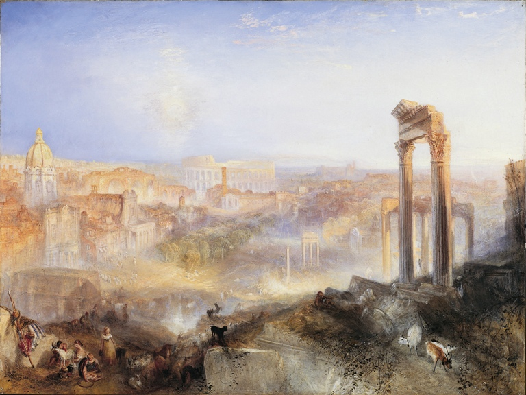 Modern Rome – Campo Vaccino (1839) | Oil on canvas | 90.2 x 122 cm | Private Collection, on loan to the National Gallery of Scotland.