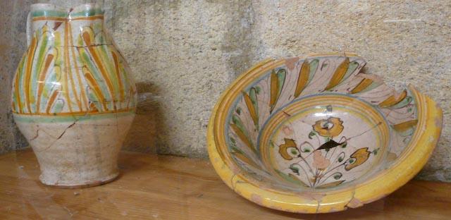 Pitcher and Bowl | Duchy of Castro | 16th Century | Museo della Ceramica | Tarquinia