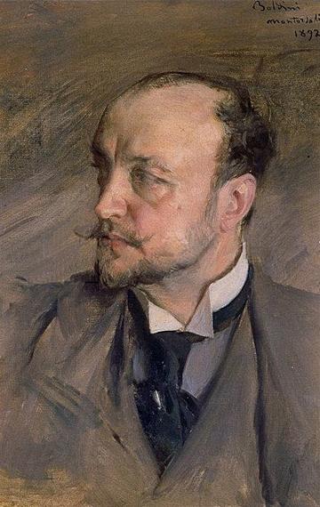 Giovanni Boldini, Self-Portrait, 1892