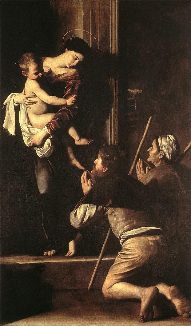 Caravaggio, La Madonna di Loreto, Chiesa di Sant'Agostino, Rome