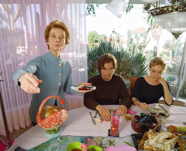 Grace Zabriskie, Michael Shannon and Chlöe Sévigny eat Jell-O.