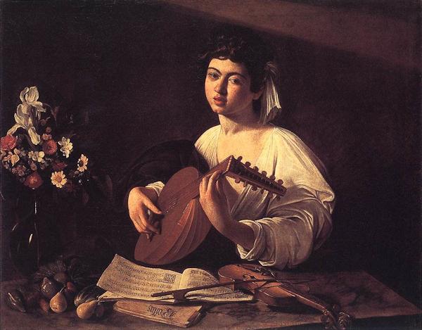 Michelangelo Merisi da Caravaggio, Suonatore di Liuto, Hermitage