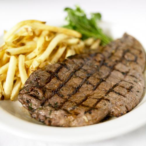 The immortal steak frites at Brasserie Jo