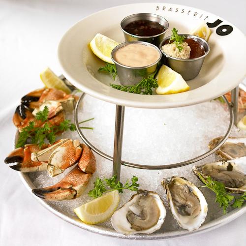 Le Grand Jo, Brasserie Jo's Selection of Seafood