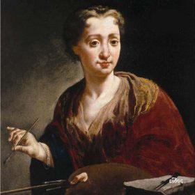 Giulia Lama, Self Portrait, c. 1725 Florence, Galleria degli Uffizi.