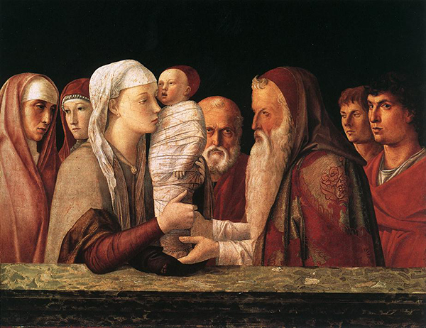 Giovanni Bellini, Presentation in the Temple, c. 1469. Fondazione Querini Stampalia.