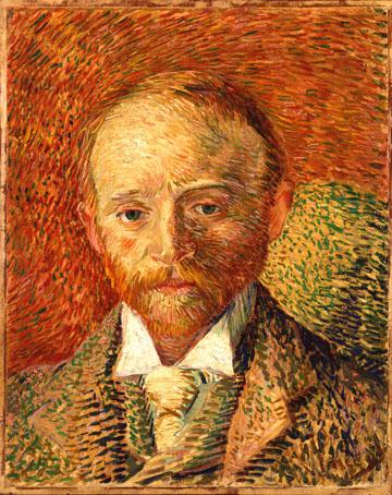 Vincent van Gogh Portrait of Alexander Reid. Kelvingrove Art Gallery and Museum.