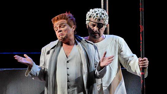Arnold Bezuyen's Loge Unmasked. Photo © Bayreuther Festspiele GmbH / Enrico Nawrath.