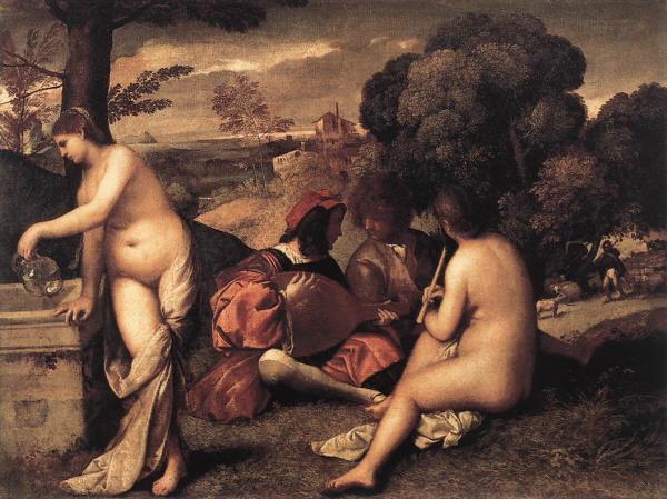 Titian, Concert Champêtre (ca. 1510)