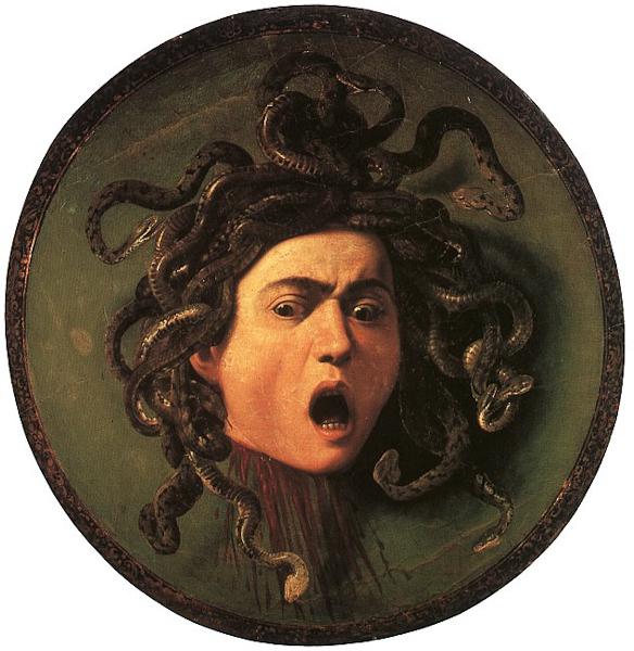 Michelangelo Merisi da Caravaggio, Head of the Medusa, Gallerie degli Uffizi, Florence.