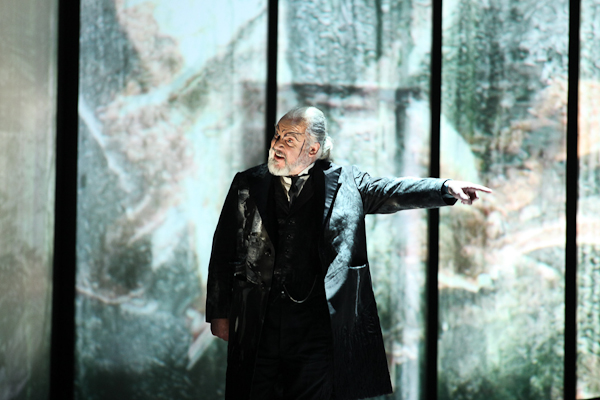 John Tomlinson as Hundimg in Die Walküre at La Scala. Photo: Brescia e Amisano – Teatro alla Scala.
