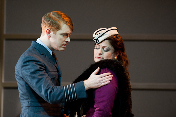 Tim Mead as Orlando and Sally Silver as Angelica in Handel's Orlando at the Scottish Opera. Photo Richard Campbell.