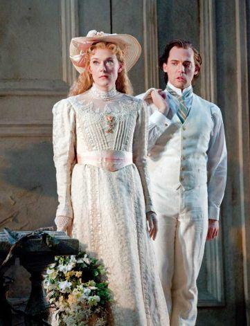 Magdalena Kožená and Stéphane Degout in the Metropolitan Opera's Pelléas et Mélisande. Photo: Ken Howard/Metropolitan Opera.