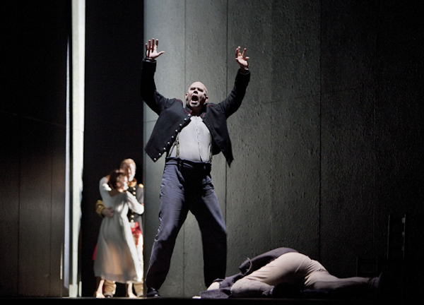 Alan Held as Wozzeck at the Metropolitan Opera. Photo: Cory Weaver/Metropolitan Opera.