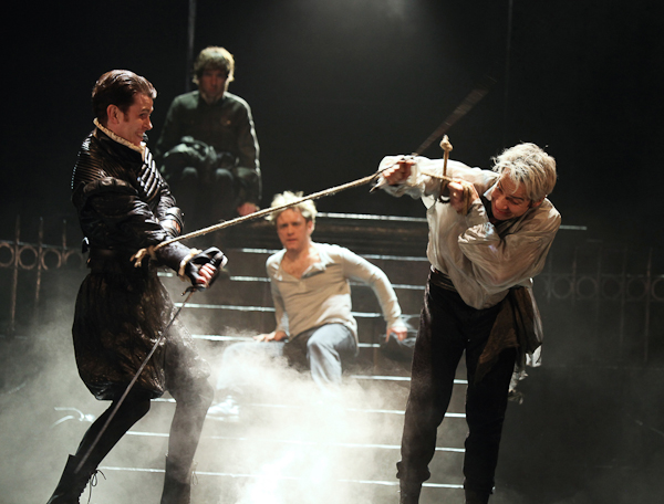 Romeo and Juliet, Royal Shakespeare Company, Rupert Goold, director. Photo Ellie Kurttz.