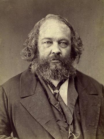 Mikhail Bakunin. Photograph by Nadar.