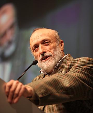 Carlo Petrini, founder of the International Slow Food Movement.