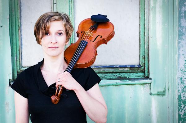 Piia Kleemola, violinist.