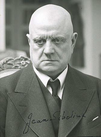 Jean Sibelius.