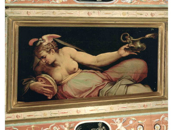 Giorgio Vasari and assistants, Room of Jupiter, Palazzo Vecchio, Florence.