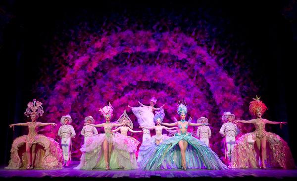 Stephen Sondheim S Follies At The Marquis Theatre On