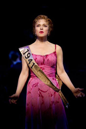 Bernadette Peters as Sally Durant Plummer in Goldman and Sondheim's Follies at the Marquis Theatre