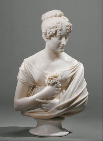 Lorenzo Bartolini, Ritratto di donna, c. 1820, Rijksmuseum Amsterdam.
