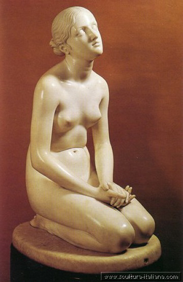 Lorenzo Bartolini, Fiducia in Dio, 1834-35, Museo Poldi Pezzoli, Milano.