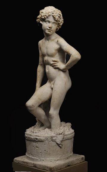 Lorenzo Bartolini, L'Ammostatore, c. 1820, Hermitage, St. Petersburg.
