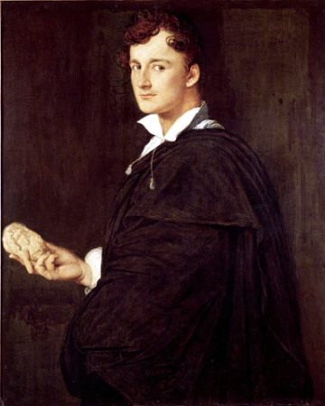 Jean Auguste Dominique Ingres, Portrait of Bartolini, 1806, Musée Ingres, Montauban.