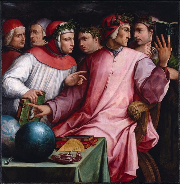 Giorgio Vasari, 1544, Six Tuscan Poets, Minneapolis Institute of Arts