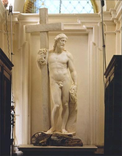 Michelangelo and Followers, Cristo risorto, San Vicenzo Martire, Bassano Romano.