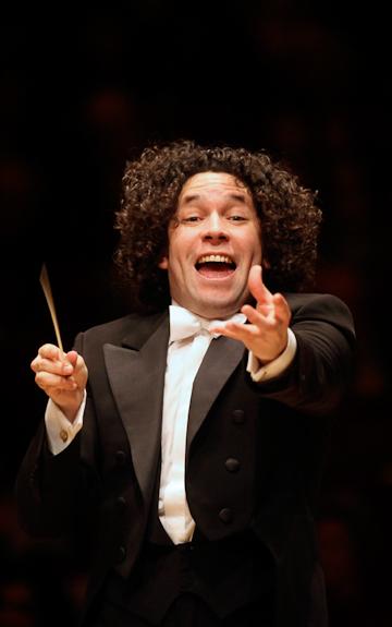 Gustavo Dudamel. Photo Chris Lee.