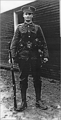 R. C. Sherriff in Uniform